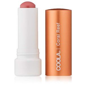 Organic Liplux Tinted Mineral Lip Balm Coral Reef